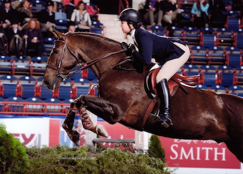 Melanie Selleck and Zenden USEF National Medal Finals 2014 Pennsylvania National Photo Al Cook