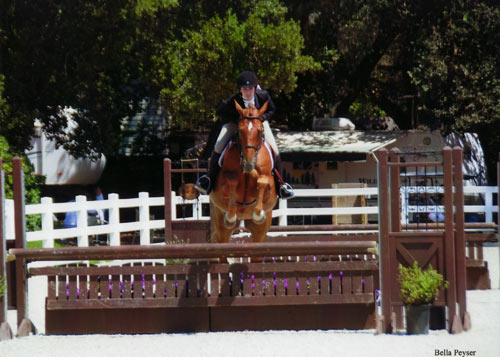 Jessica Singer and Cabo Z Adult Hunter 2012 Menlo Charity Horse Show Photo Bella Peyser