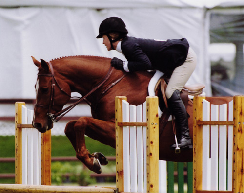 Shelby Wakeman and Red Rooster Oaks Blenheim 2008 Photo Cathrin Cammett