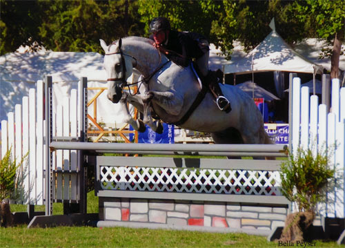 "Richard Boh and Zivago owned by Wilder Mountain Farm LLC 3'6"" Performance Hunter 2012 Menlo Charity Photo Bella Peyser"