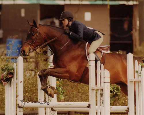 Stephanie Danhakl and Pharaoh 2003 Oaks Spring Classic Photo by Naismith