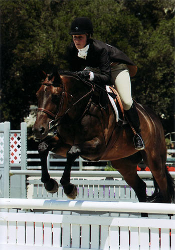 Harriet Posner and Victory Road Adult Hunter 2012 Menlo Charity Photo JumpShot