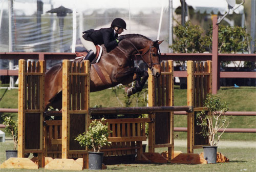 Ashley Pryde and Truly Oaks Blenheim 2008 Photo Cathrin Cammett