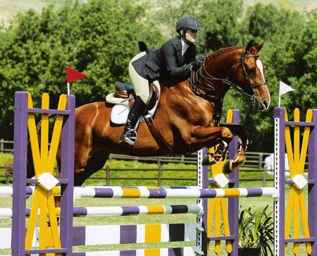 Amy Brubaker and Elastic owned by Camilla Cleese 2005 USEF National Champion Adult Equitation Photo JumpShot
