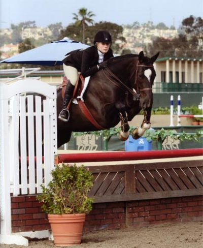 Ashley Pryde and Kendjira CPHA Amateur Medal 2011 Del Mar National Photo Osteen