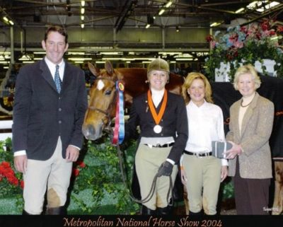 Jane Fraze and Mandarin Regular Working Hunter Champion 2004 Metropolitan National Horse Show Photo Flashpoint