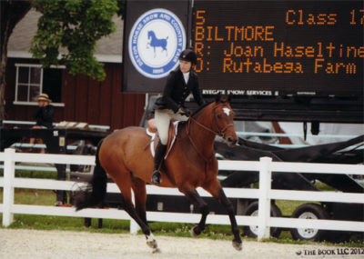 Joan Hasteltine and Biltmore Low Amateur/Owner Hunter 36 & Over Photo The Book LLC