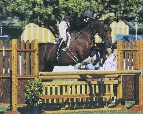 Shelby Wakeman and My Cap Small Junior Hunters 16–17 Division 2007 Oaks Blenheim Photo by JumpShot
