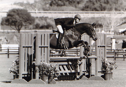 Archie Cox and Biltmore Oaks Blenheim 2008 Photo Cathrin Cammett