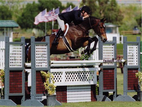 John French and Truly Oaks Blenheim 2008 Photo Cathrin Cammett