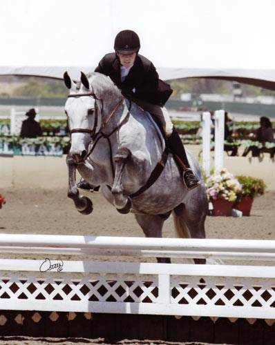 Jessica Singer and Cruise Champion Childrens Hunters 16–17 2010 Del Mar National Photo Osteen
