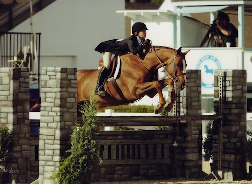 Hunter Siebel and Mountain Home Stables Pure Abundance Large Junior 15 & Under 2014 Devon Horse Show Photo The Book LLC