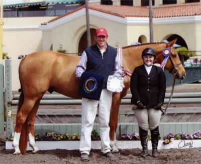 Chelsea Samuels and Brooklyn Champion Adult Hunter 18-35 2011 Del Mar National Photo Osteen
