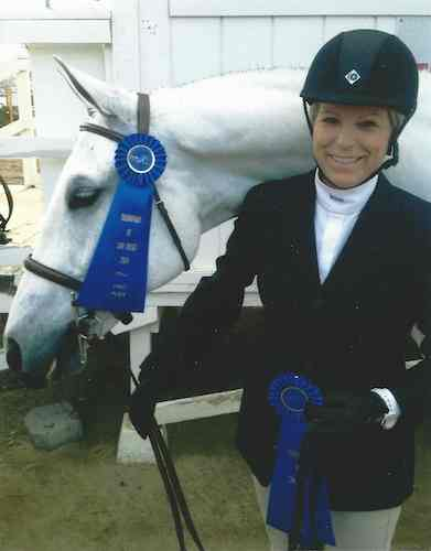 "Karin Binz and Walnut Creek Amateur Owner Hunter 3'3"" 2014 Gold Coast Series Los Angeles Equestrian Center"