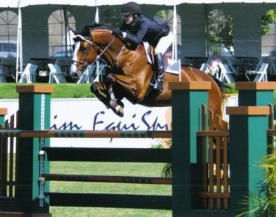 Laura Ware and Westin 2009 Blenheim June Photo Deb Dawson