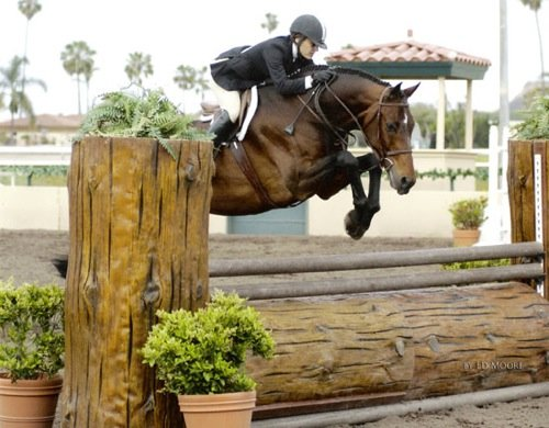 Laura Wasserman and Quality Time Zone 10 Champion A-O 36 and Over 2007 Del Mar National Horse Show Photo Ed Moore
