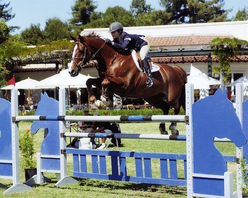 Lucy Davis and Mister Mind Junior Jumper 2006 Menlo Charity Photo JumpShot
