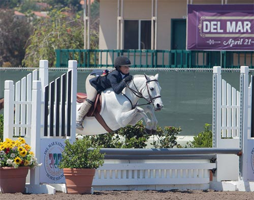 Stella Wasserman and Blueberry Hill Grand Champion Pony Hunter Champion Small Pony Hunter 2016 Del Mar National