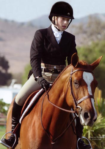 Ashley Pryde and Wesley Champion Small Junior Hunters 15 and Under 2008 Blenheim Summer Classic Photo Captured Moment Photography