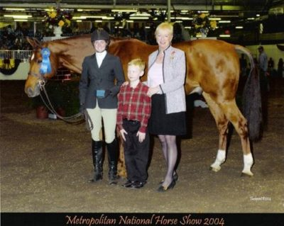 Alex Becksett and Lifetime 2004 Metropolitan National Horse Show Photo Flashpoint