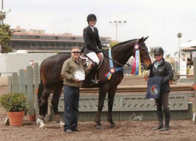 Alexandra Worthington and Romina 58 Champion Onondarka Medal_2013 Del Mar National Photo Osteen