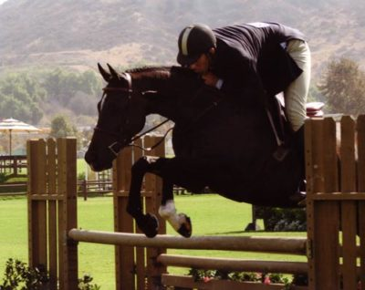 Archie Cox and Czech owned by Laura Wasserman 2nd Year Green Working Hunters Blenheim 2009 Photo Carl the great Green