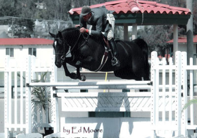 Archie Cox and Macondry owned by Kelly Johnson 2005 Del Mar National Photo Ed Moore
