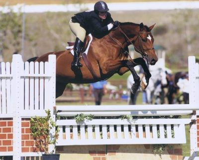 Chelsea Samuels and Crocodile 2007 Oaks Blenheim Photo by Jumpshot