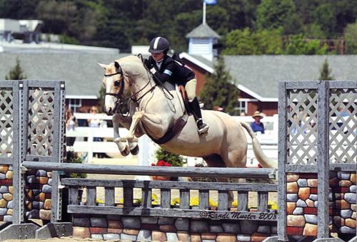 Grace Morton and Keep Dreamin 2008 Devon Horse Show Photo Randi Muster