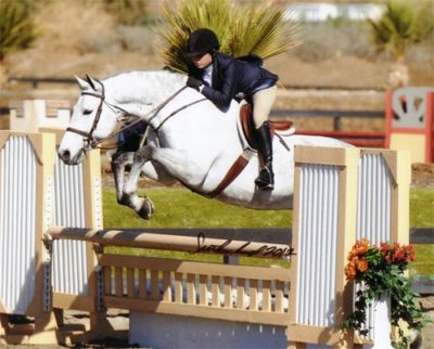 Lily Blavin and Cruise owned by Jessica Singer 2012 HITS Desert Circuit Photo Flying Horse