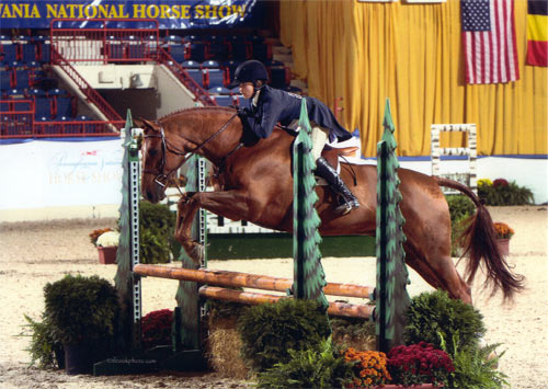 Lily Blavin and Pringle NAL Finals 2012 Pennsylvania National Photo Al Cook