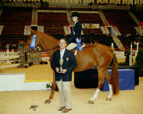 Lucy Davis Best Child Rider 2008 Pennsylvania National Photo Anne K Gittens