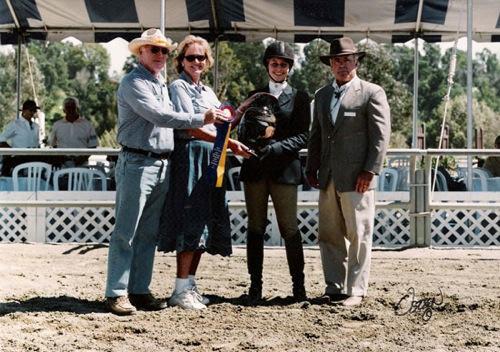 Marissa Banks Best Child Rider 2003 Portuguese Bend National Photo Osteen