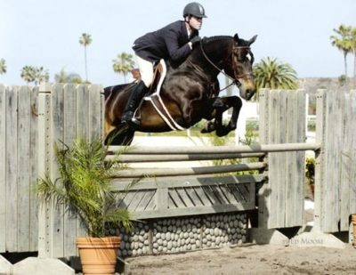 Peter Lombardo and Carson owned by Janie Andrew 2007 Del Mar National Photo Ed Moore