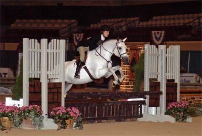 Skylar Nelson and Macy Grey Medium Pony Hunters Capital Challenge Photo ONeills