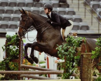 Zoie Nagelhout and Rue Royale ASPCA Maclay Finals 2011 National Horse Show Photo Shawn McMillen