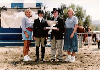 Erin Chiamulan High Point Rider 15-17 2003 Portuguese Bend National Photo Osteen