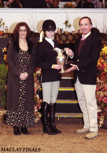 Gabbi Langston Iris McNeil Sportsmanship Award 2010 National Horse Show Photo Reflections