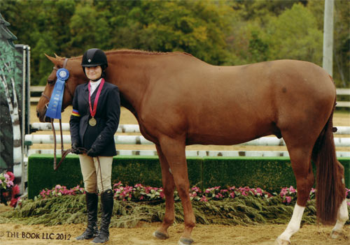 Lily Blavin and Pringle Childrens Hunter 14 & Under 2012 Capital Challenge Photo The Book LLC