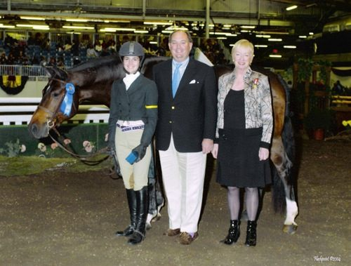 Stephanie Danhakl and Callaway Reserve Champion 2004 Metropolitan National Horse Show Photo Flashpoint