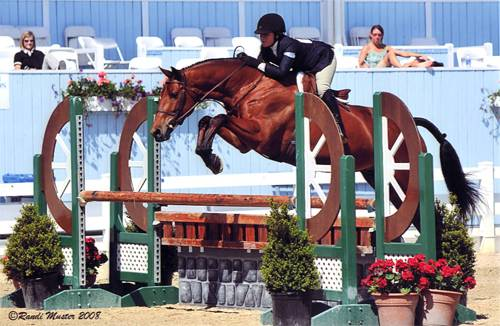 Delanie Stone and White Oak 2008 Devon Horse Show Photo Osteen Inc