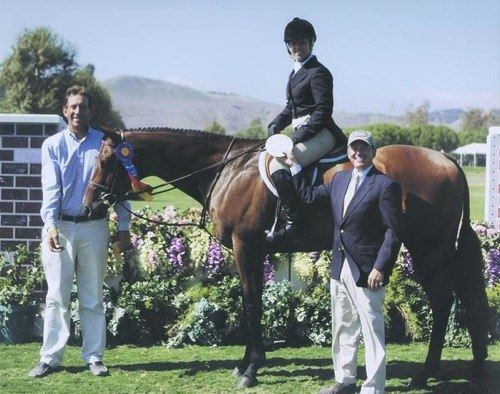 Virginia Fout and Classified Winner, A/O Hunters Classic 2007 Oaks Blenheim Photo by JumpShot