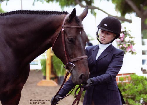 Ashley Pryde and Serenade Regular Working Hunters 2008 Showpark Photo Captured Moment