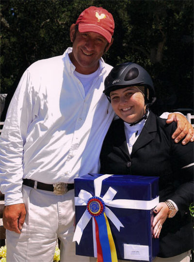 Chelsea Samuels and Archie Cox Best Adult Rider 2011 Menlo Charity Horse Show Photo JumpShot
