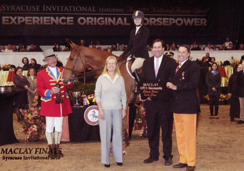 Lucy Davis 2007-2010 Top 10 ASPCA Maclay Finals Photo Reflections