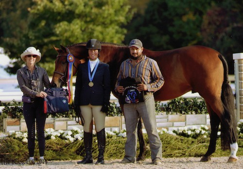 Meredith Mateo and Maximus Champion Adult Hunter 18–35 2014 Capital Challenge Photo by The Book LLC