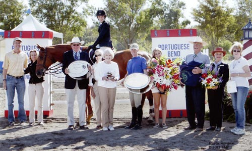 Olivia Champ and Le Prince owned by Orcas Stables Champion PCHSA Horsemanship Medal Finals 2011 Portuguese Bend National Photo Captured Moment