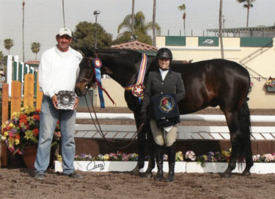Virginia Fout and Regency Champion Adult Amateur Hunter 36-50 2013 Del Mar National Horse Show Photo Osteen