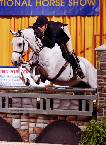 Archie Cox and Zivago owned by Wilder Mountain LLC 2nd Year Green 2011 Pennsylvania National Photo Al Cook