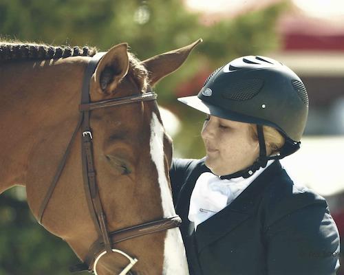 Chelsea Samuels and Adele 2014 Devon Horse Show Photo The Book LLC
